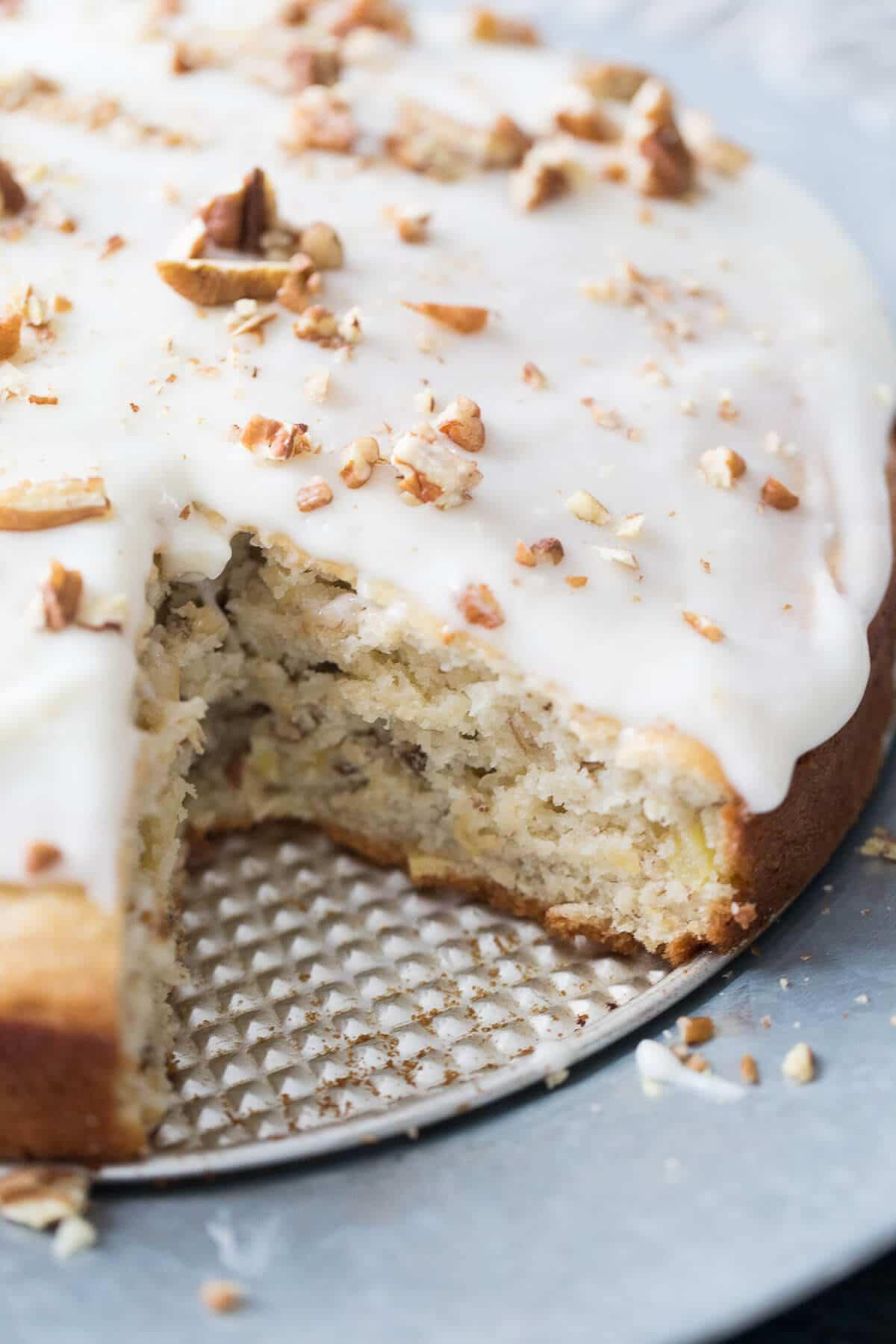 Hummingbird Cake Recipe  Hummingbird Cake Recipe Coffee Cake LemonsforLulu