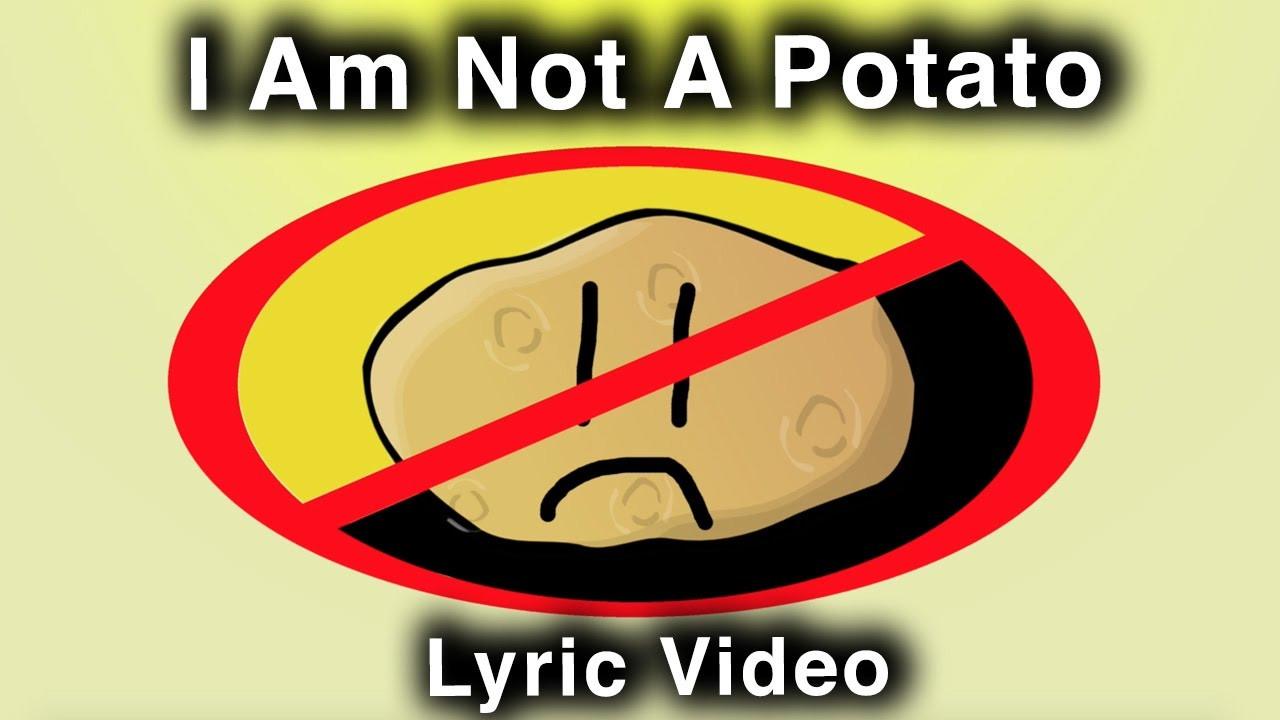 I Am A Potato  I Am Not A Potato A Hufflepuff Song Lyric Video