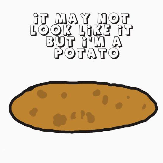 "I Am A Potato  ""I am a Potato"" T Shirts & Hoo s by ImmaGamer73"