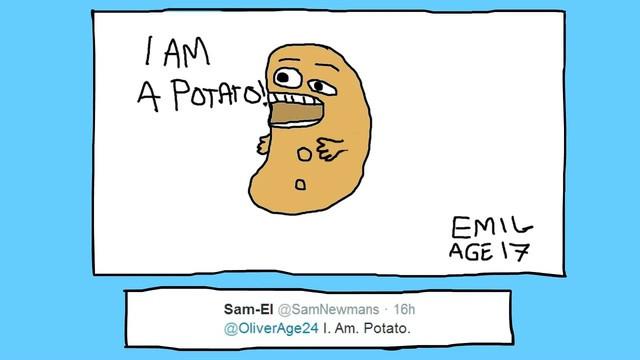 I Am A Potato  I am Potato 02 Coub GIFs with sound
