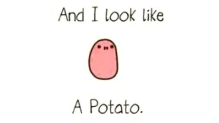 I Am A Potato  16 best images about Kawaii Potato on Pinterest