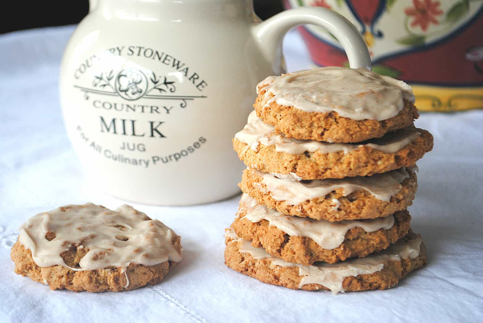 Iced Oatmeal Cookies  Iced Oatmeal Cookies Shugary Sweets