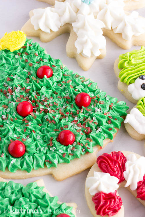 Icing Recipe For Sugar Cookies  Christmas Cookie Frosting