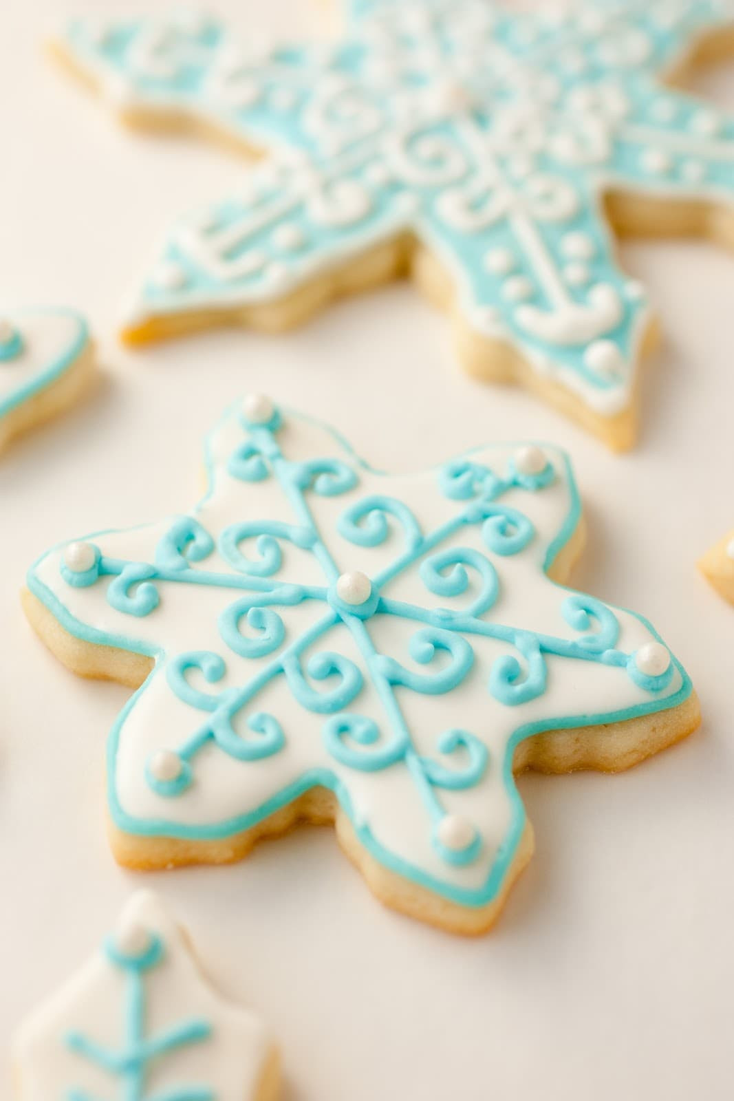 Icing Recipe For Sugar Cookies  Iced Sugar Cookies Cooking Classy