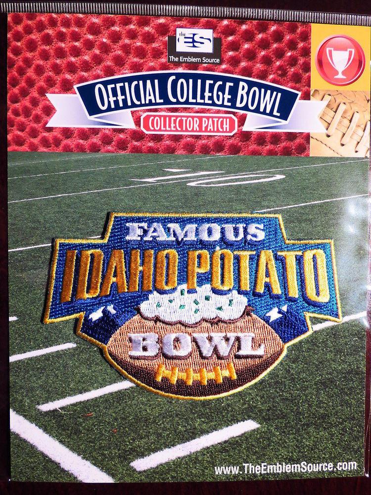 Idaho Potato Bowl  NCAA Football Famous Idaho Potato Bowl Patch 2014 15