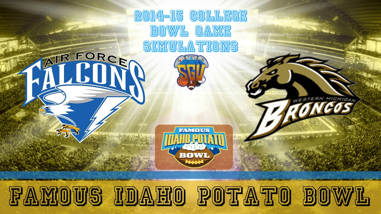 Idaho Potato Bowl  Famous Idaho Potato Bowl Sim Western Michigan vs Air