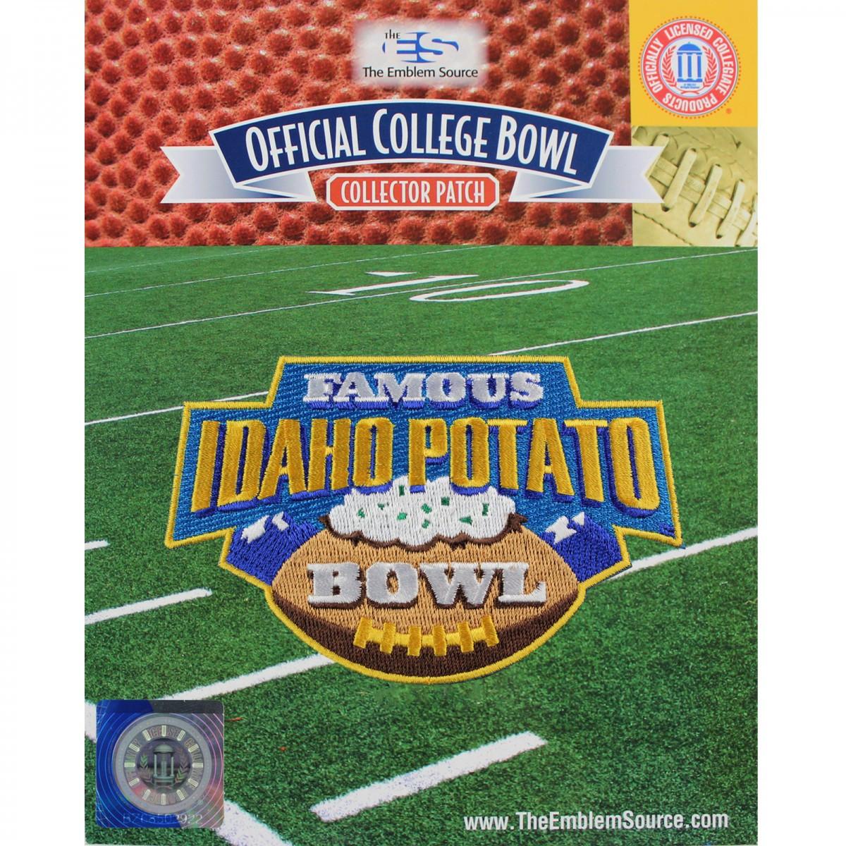 Idaho Potato Bowl  Famous Idaho Potato Bowl Jersey Patch 2015 Akron vs