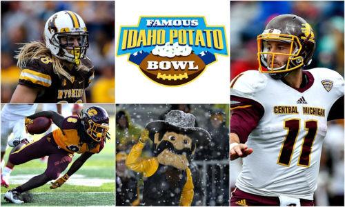 Idaho Potato Bowl  GAME PREVIEW CENTRAL MICHIGAN vs WYOMING FAMOUS IDAHO
