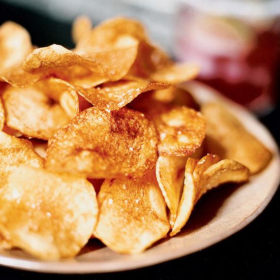 Idaho Potato Recipes  Idaho Potato Chips Recipe Russ Pillar