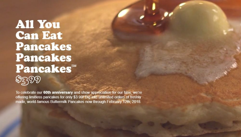 Ihop All You Can Eat Pancakes 2018  Ready to eat All You Can Eat Pancakes are $3 99 at IHOP