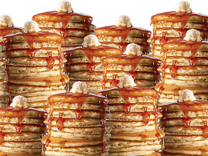 Ihop All You Can Eat Pancakes 2018  IHOP fers All You Can Eat Pancakes To Start 2017 Chew Boom