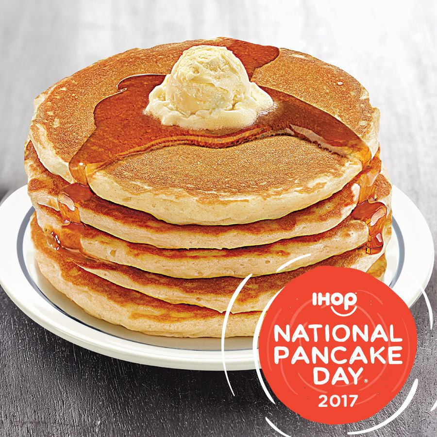 Ihop Free Pancakes 2017  Manila Shopper IHOP National All You Can Eat Pancake Day