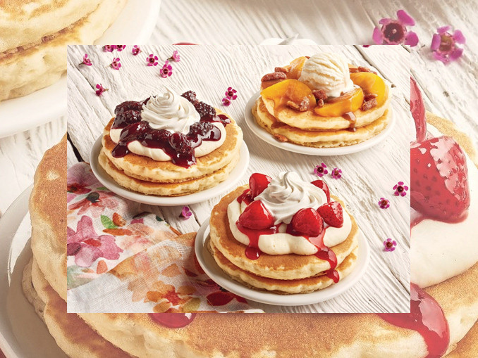 Ihop Free Pancakes 2017  IHOP Introduces New Spring Fling Pancakes For Spring 2017