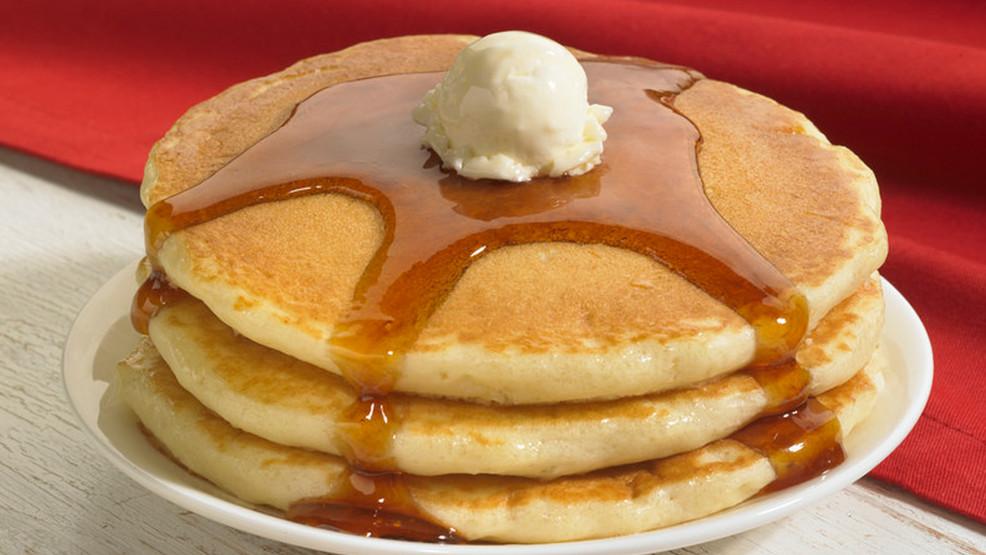 Ihop Free Pancakes  IHOP offers free pancakes on National Pancake Day
