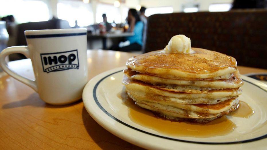 Ihop Free Pancakes  IHOP is serving free pancakes February 27