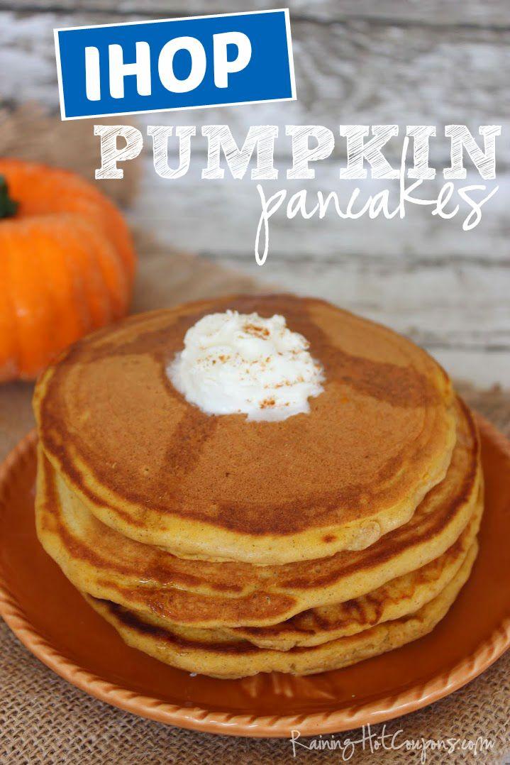 Ihop Pumpkin Pancakes  Copycat IHOP Pumpkin Pancakes Recipe