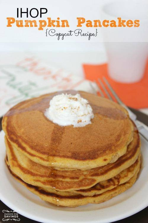 Ihop Pumpkin Pancakes  when do ihop pumpkin pancakes start 2016