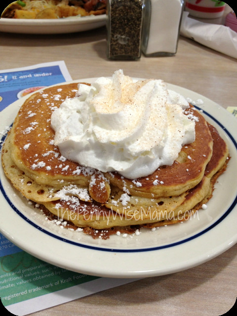 Ihop Pumpkin Pancakes  IHOP Signature Pancakes Review $50 Gift Card Giveaway