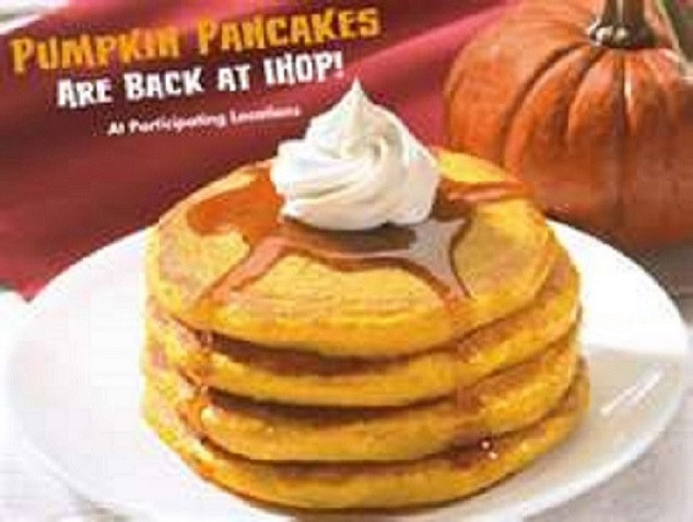 Ihop Pumpkin Pancakes  IHOP PUMPKIN PANCAKES buttermilk from scratch