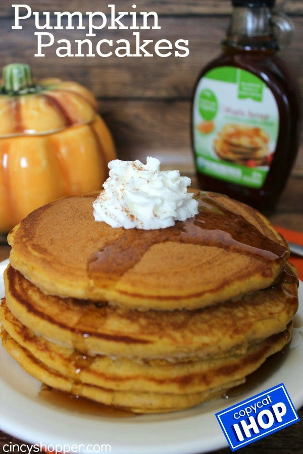 Ihop Pumpkin Pancakes  My Favorite Things Saturdays 44 9 20