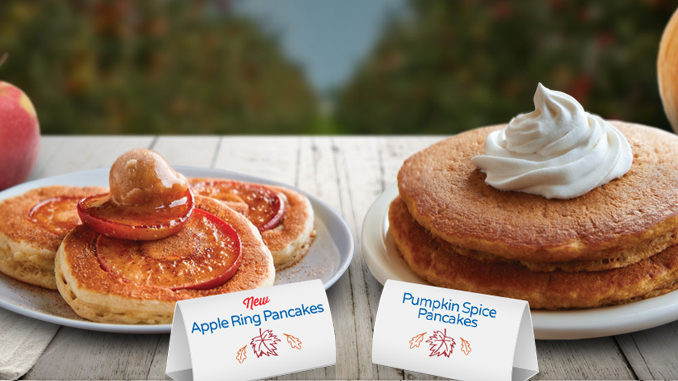 Ihop Pumpkin Pancakes  IHOP Serving Up New Apple Ring Pancakes And Pumpkin Spice