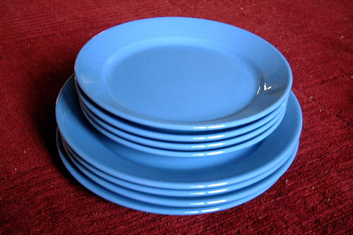 Ikea Dinner Plates  IKEA dishes dinner plates and salad plates set of 4