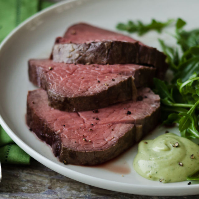 Ina Garten Beef Tenderloin  Slow Roasted Filet of Beef with Basil Parmesan…