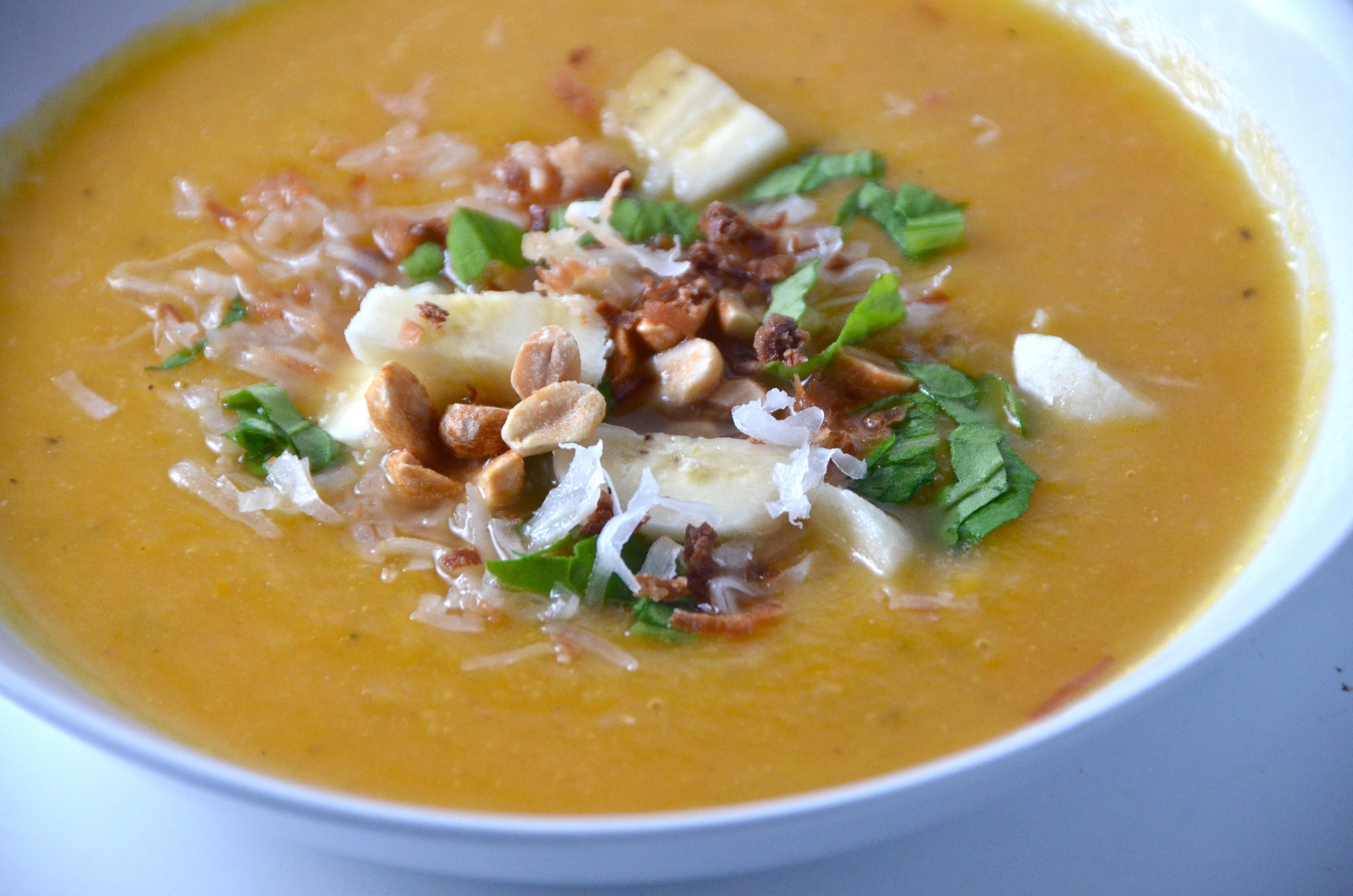 Ina Garten Butternut Squash Soup  curried butternut squash soup ina garten