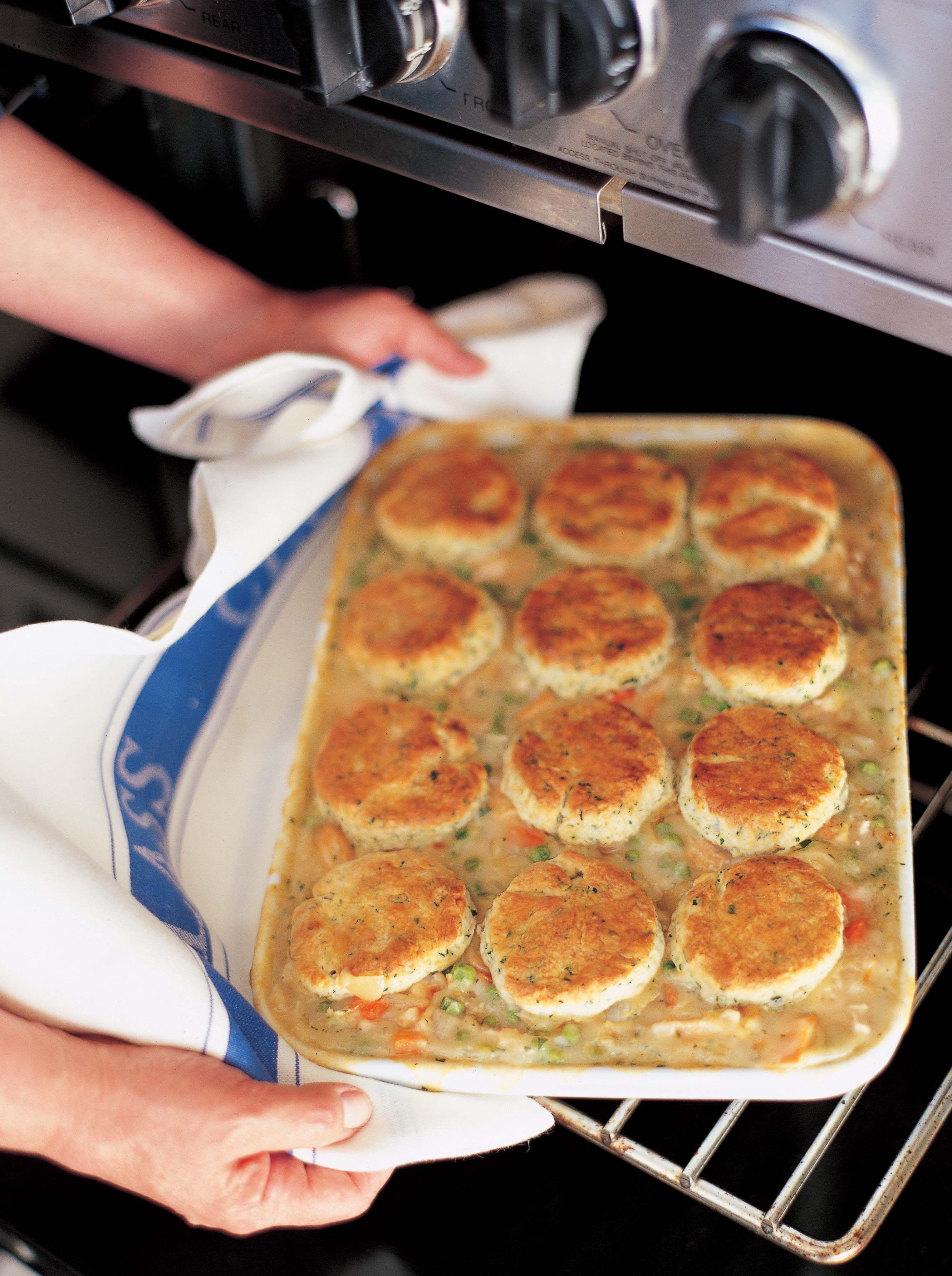 Ina Garten Chicken Pot Pie  Chicken Stew with Biscuits Recipe
