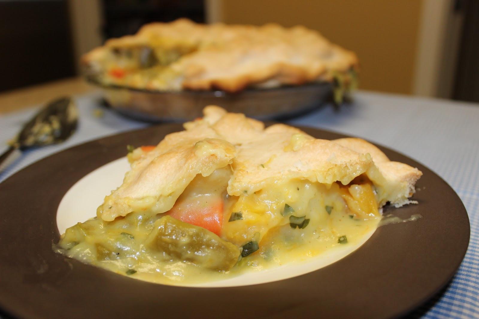 Ina Garten Chicken Pot Pie  The Cookbook Project Ve able Pot Pie