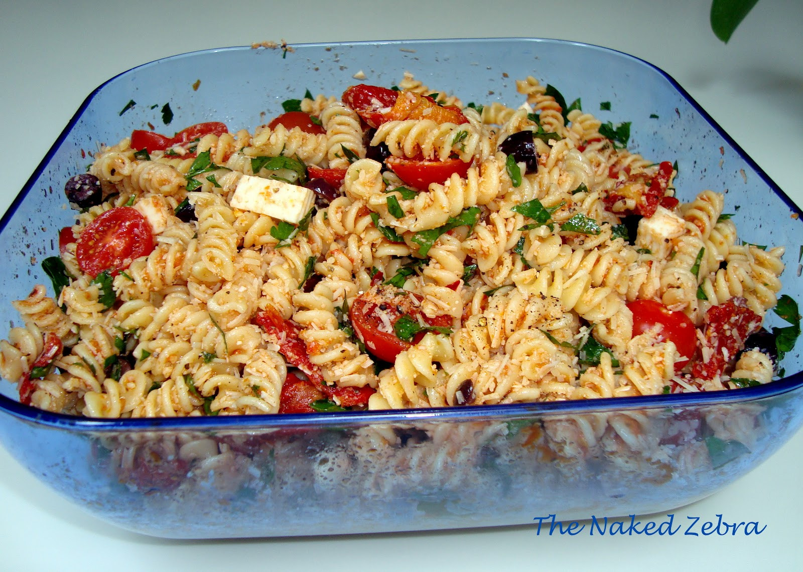Ina Garten Pasta Salad  The Naked Zebra Tomato Feta Pasta Salad Ina Garten