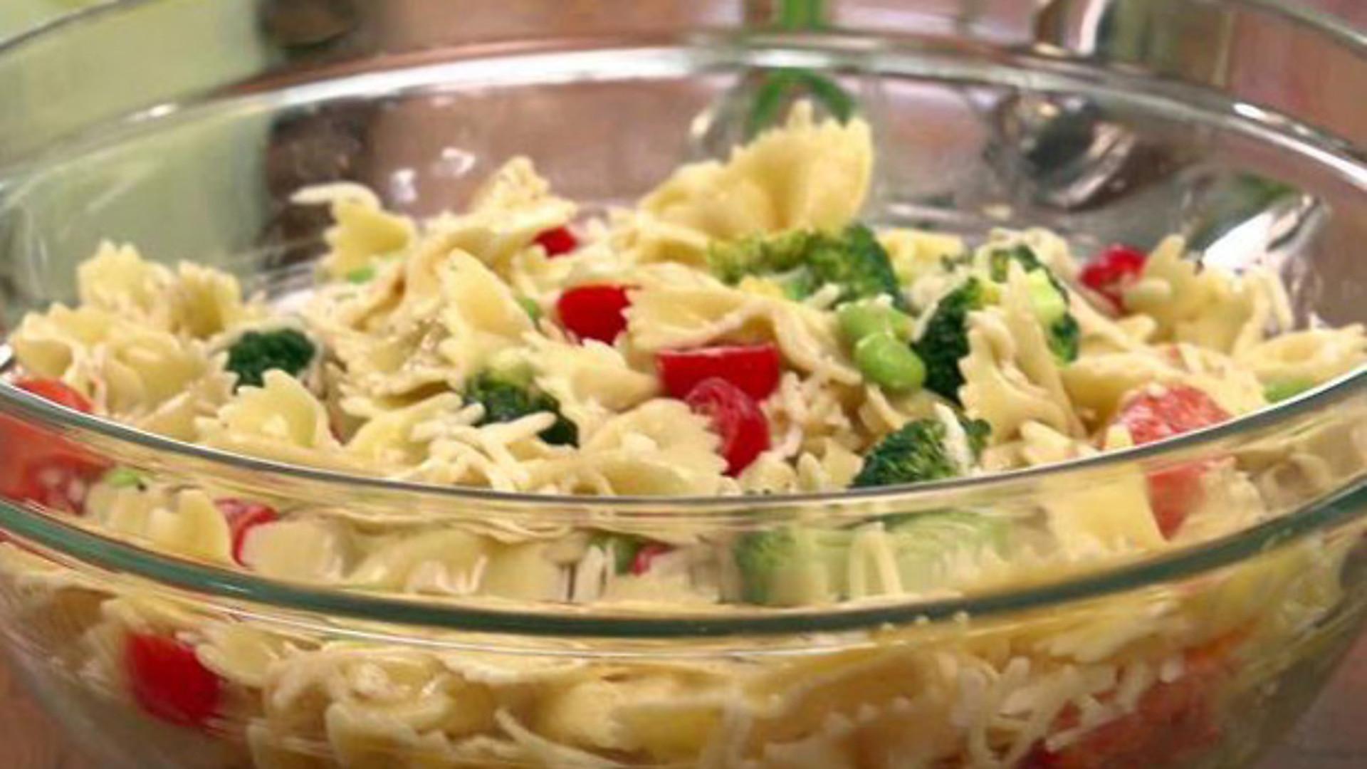 Ina Garten Pasta Salad  ina garten broccoli bow tie pasta