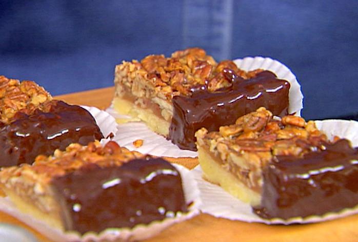 Ina Garten Pumpkin Pie  Pecan Squares Recipe