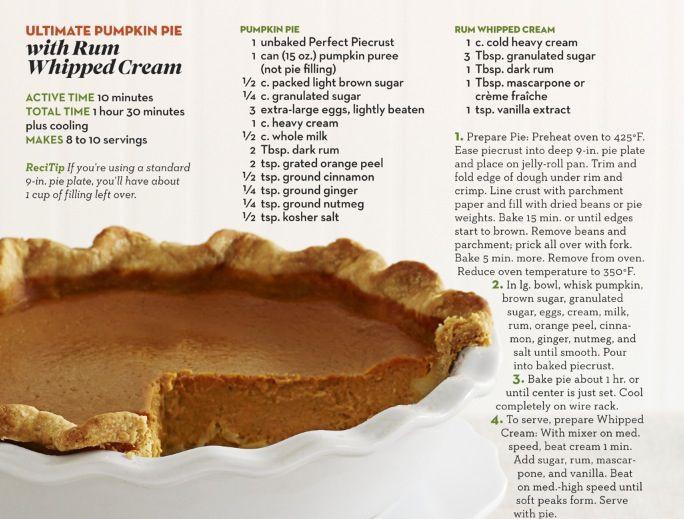 Ina Garten Pumpkin Pie  Pumpkin Pie Ina Garten Recipes