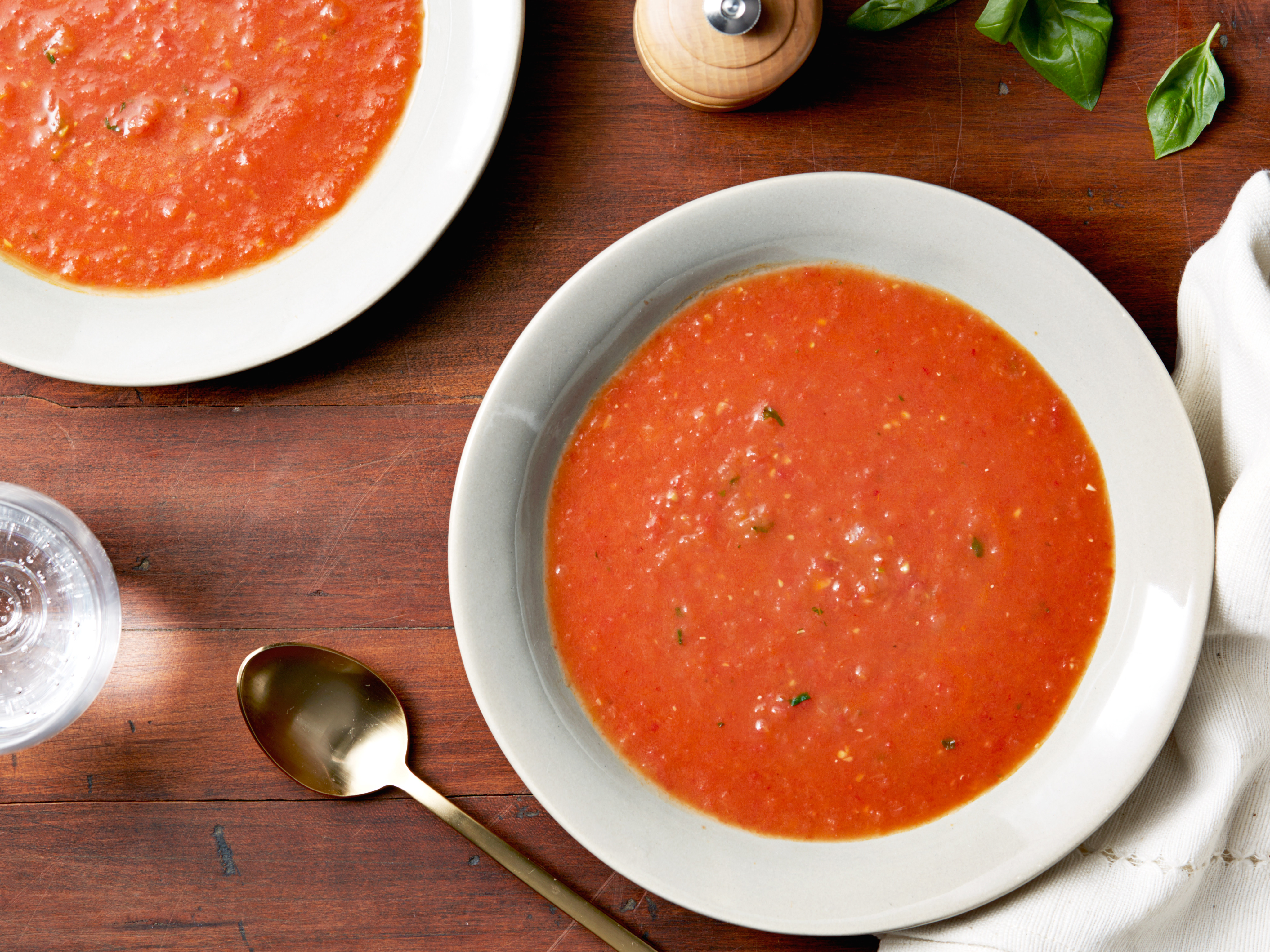 Ina Garten Tomato Soup  Roasted Tomato Basil Soup Recipe Ina Garten Food Network