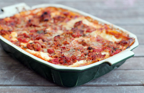Ina Garten Turkey Lasagna  This Week for Dinner Deeeeelicious Lasagna Recipe This