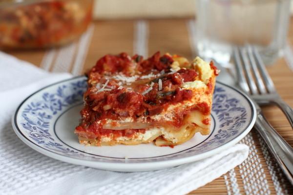 Ina Garten Turkey Lasagna  Ina Garten s Turkey Lasagna with Goat Cheese Inquiring Chef