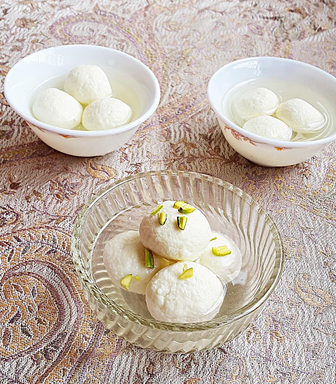 India Desserts Recipes  Indian dessert Rasgulla recipe How to make spongy