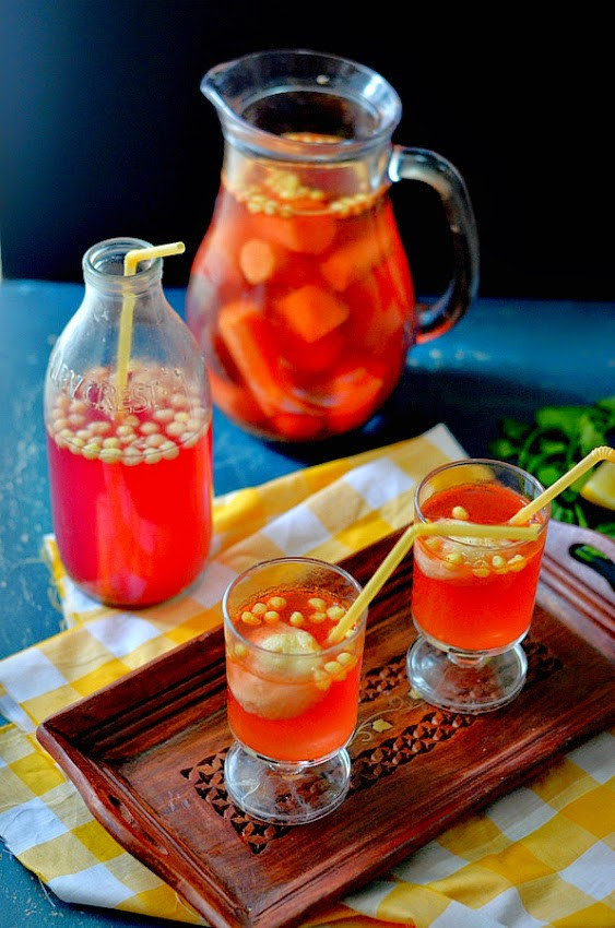 Indian Alcoholic Drinks  Kaanji Vada An Indian Mocktail Fermented carrot and
