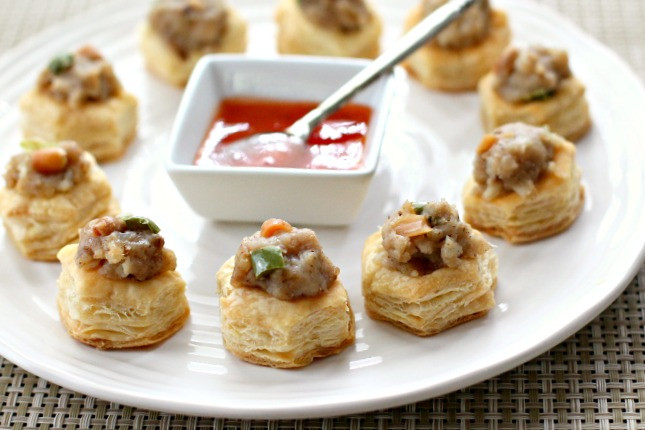 Indian Appetizers For Party  Indian Spiced Potato Pastry Shells idahopotato