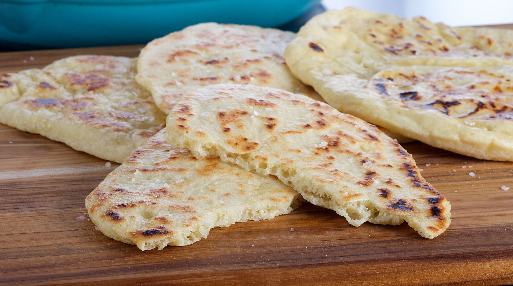 Indian Bread Recipe  Bake With Anna Olson Recipes Indian Naan Bread