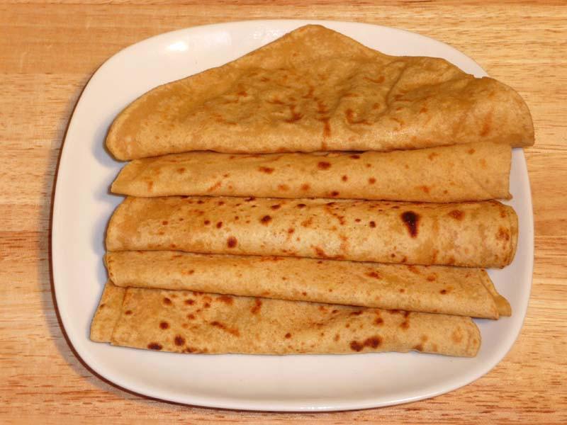 Indian Bread Recipe  Paratha whole Wheat Flat Bread Manjula s Kitchen