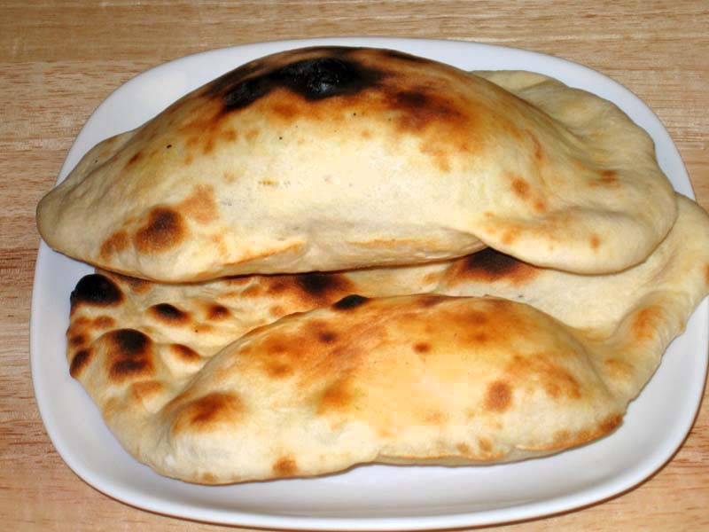 Indian Bread Recipe  Naan Oven Baked Flat Bread Manjula s Kitchen Indian