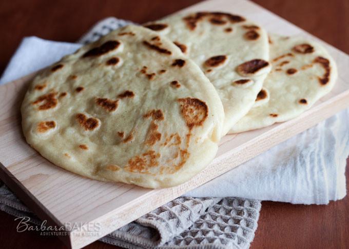Indian Bread Recipe  Easy To Make Naan Indian Flatbread Recipe