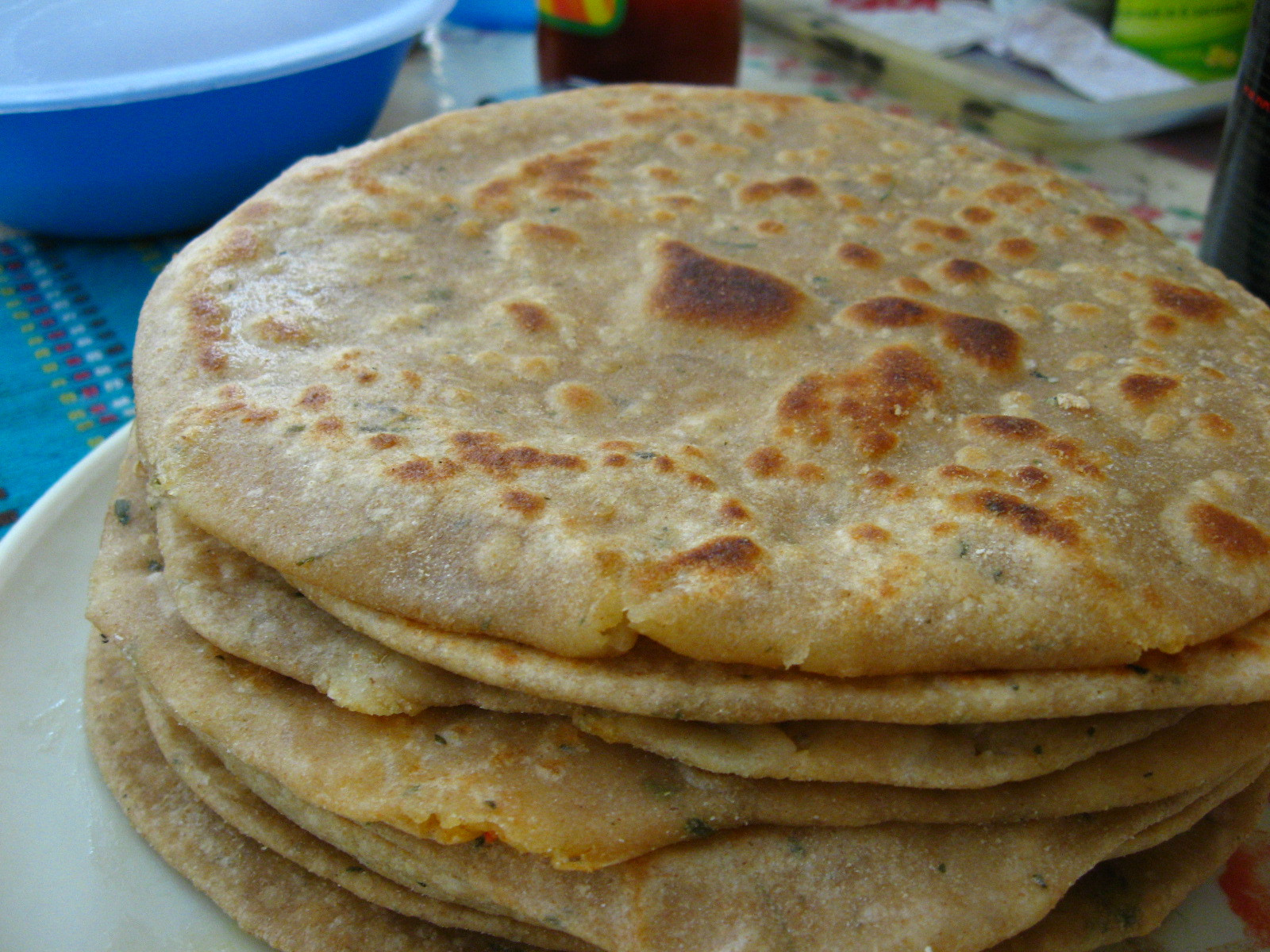 Indian Bread Recipe  Paratha