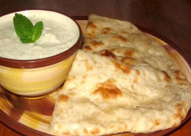 Indian Bread Recipe  Homemade East Indian Naan Bread Made Easy Recipe Food
