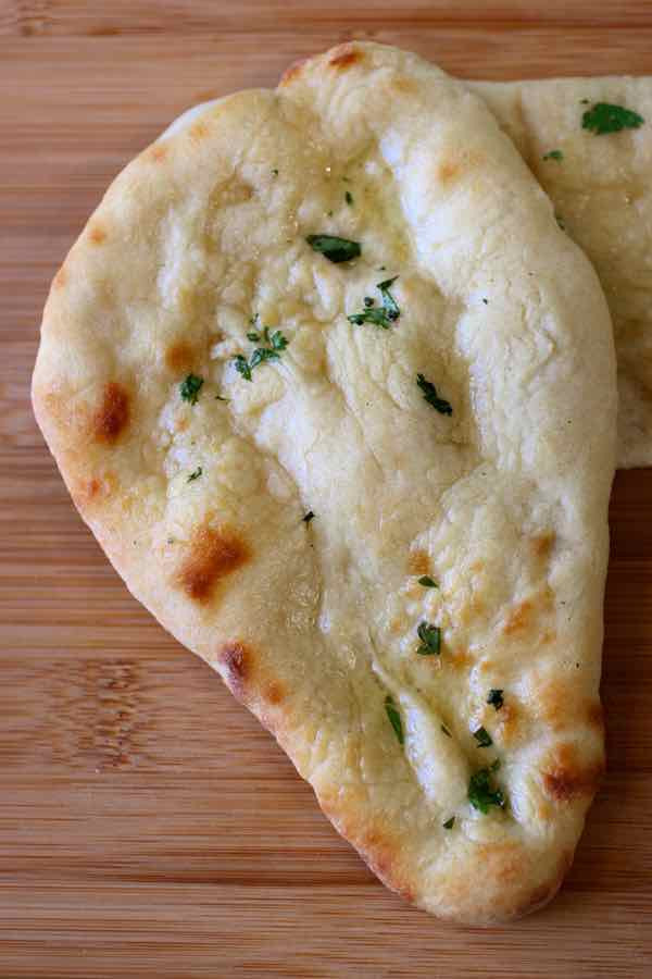 Indian Bread Recipe  Naan Traditional Recipe for Indian Naan Bread