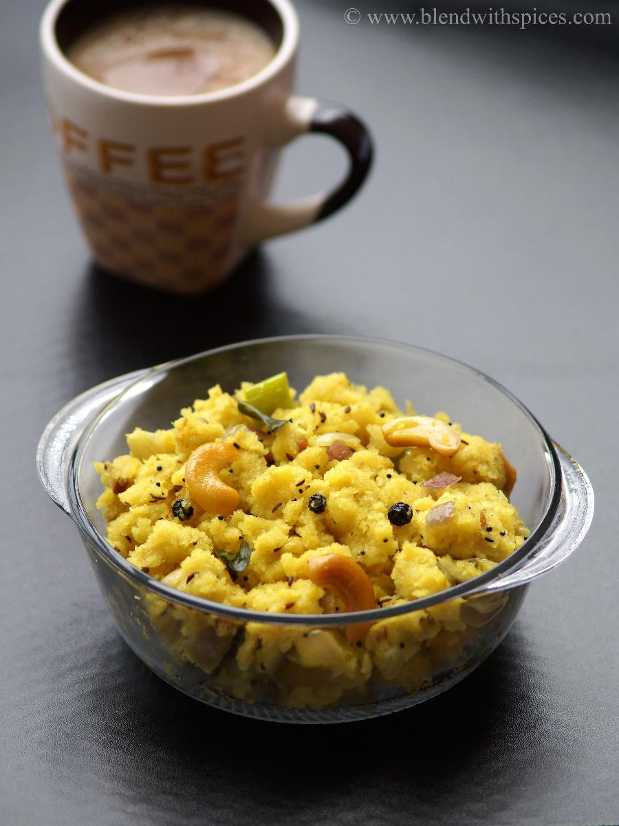 Indian Brunch Recipes  Kanchipuram Upma Recipe South Indian Upma Recipes Easy