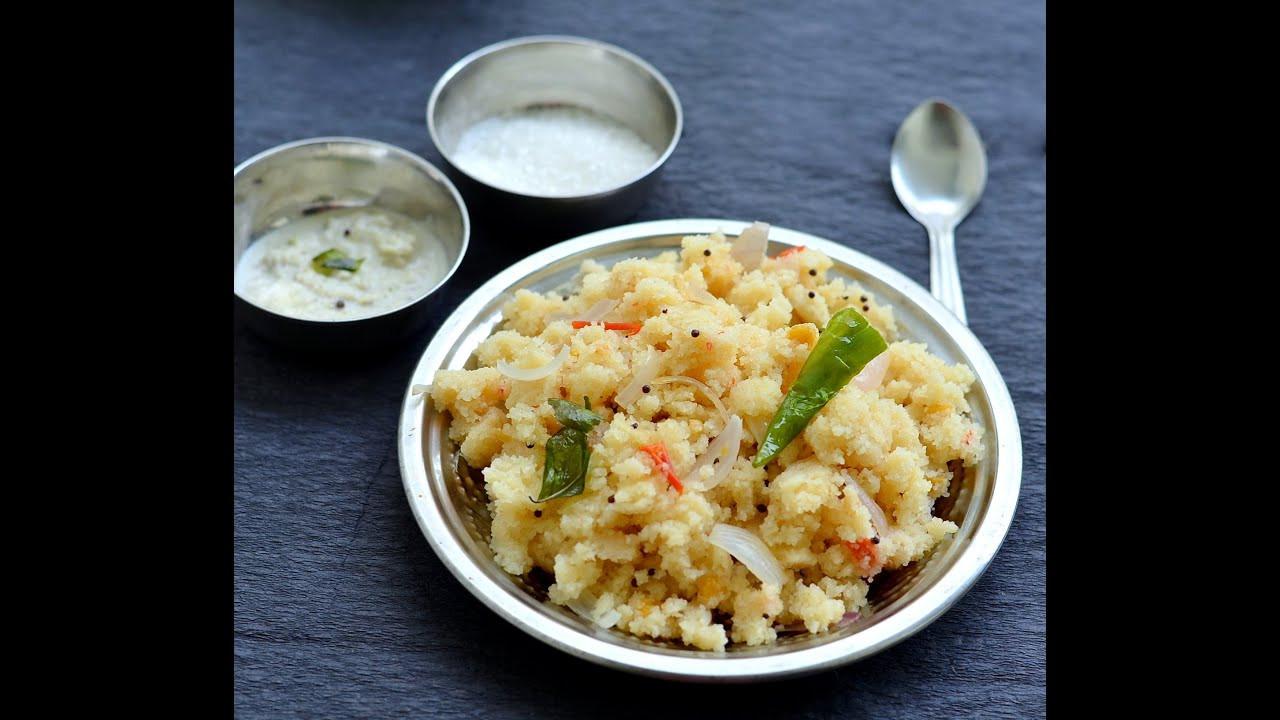 Indian Brunch Recipes  Rava upma recipe Sooji Upma How to make upma Indian