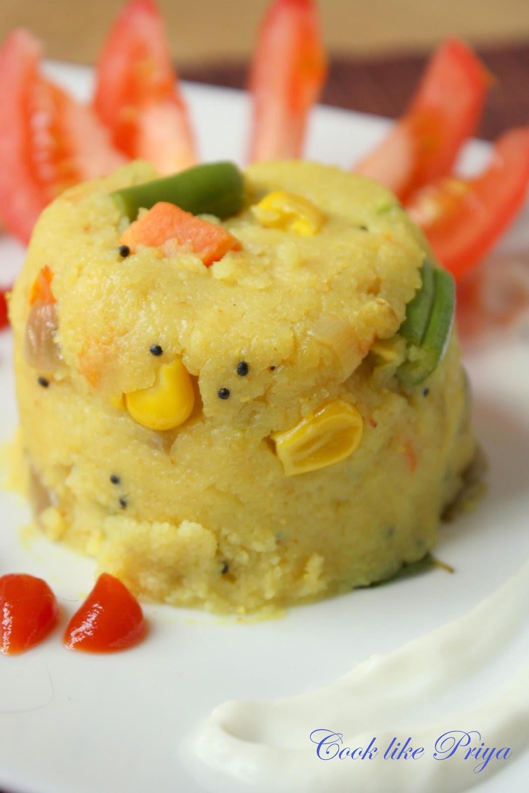 Indian Brunch Recipes  Cook like Priya Mixed Veg Kichadi Simple South Indian